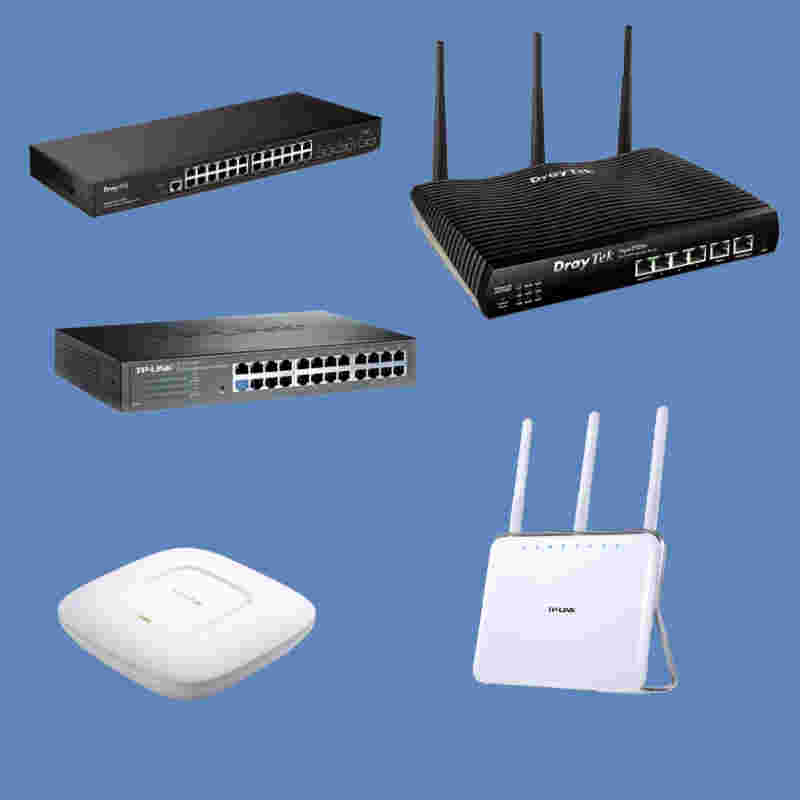 Routers and wifi from PAAC IT
