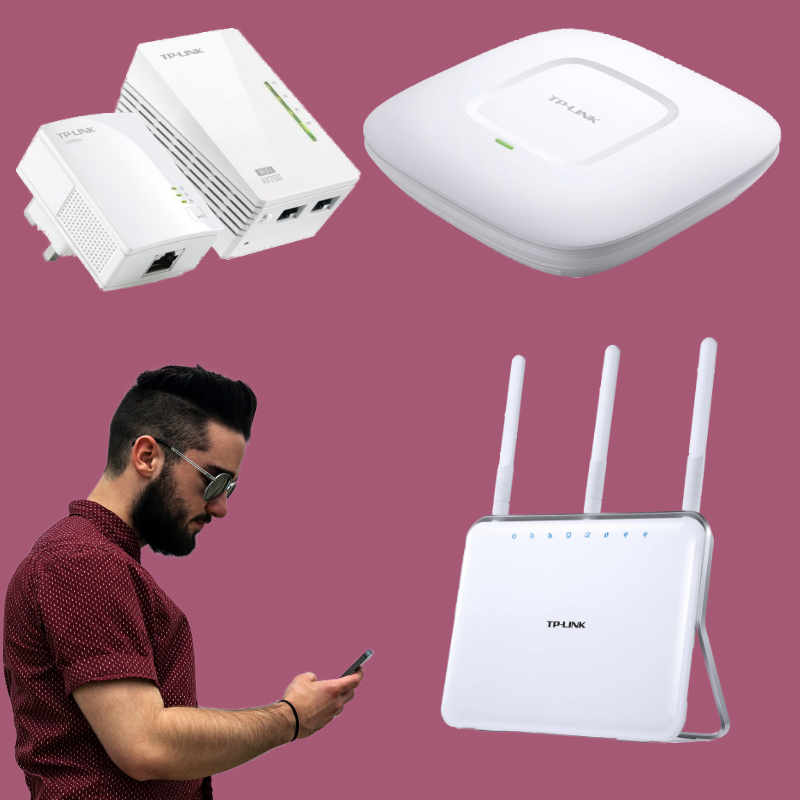 WiFi and routers from PAAC IT