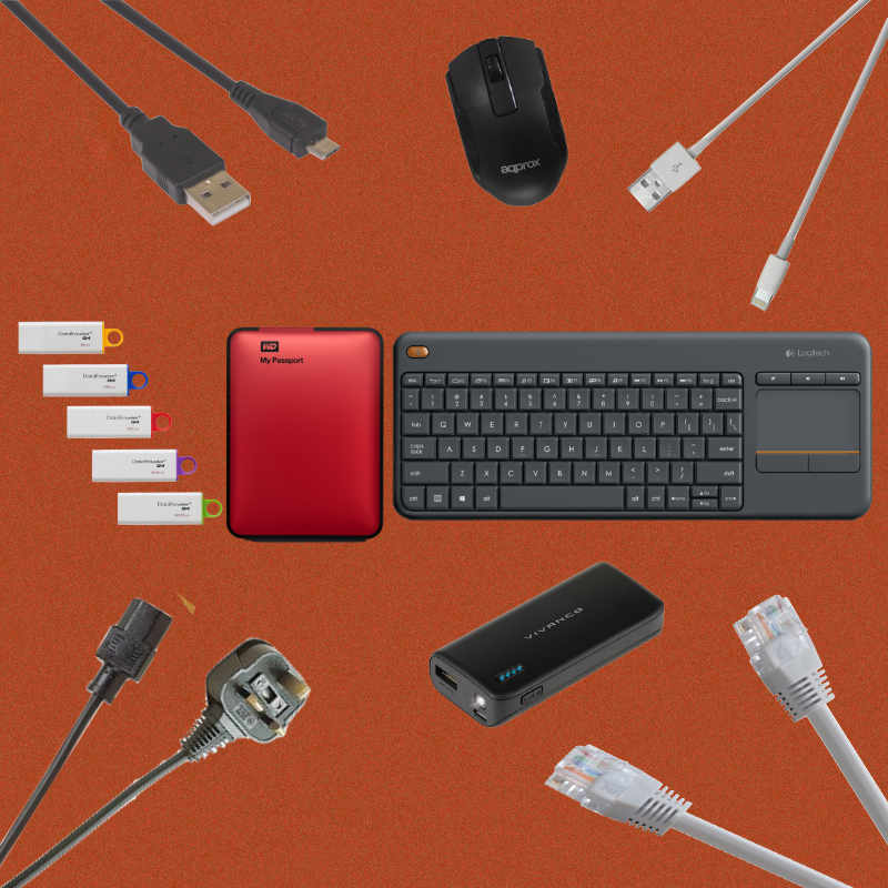 Cables Keyboards and Accessories