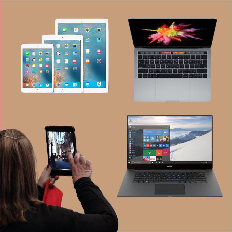 laptops and tablets from PAAC IT