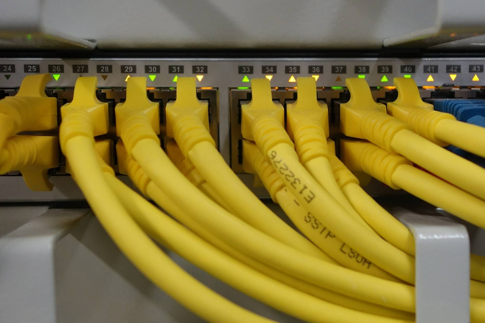 Cabling and Data Cabinets