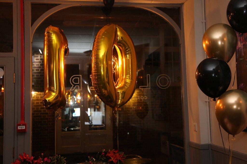 PAAC IT Anniversary Balloons
