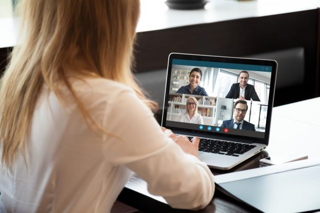 Image of video conferencing at paac-it.com