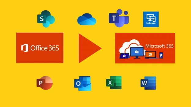 Office 365 changes name to Microsoft 365